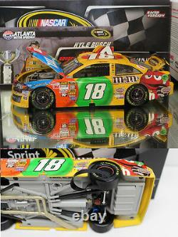 Kyle Busch 2013 Atlanta Win Raced Version M&m's 1/24 Scale Action Diecast