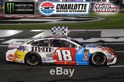 Kyle Busch 2018 Charlotte Win Raced Version Patriotic M&m's 1/24 Action Diecast