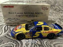 Kyle Busch Action Kellogg's California 1st Cup Win Raced Version 05 Chevy NASCAR