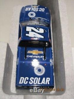 Kyle Larson 2016 #24 DC Solar Autograph Eldora Race Win 1/24