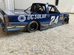 Kyle Larson 2016 #24 DC Solar Eldora Raced Win NASCAR Diecast Truck