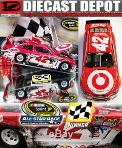 Kyle Larson 2016 Allstar Showdown Win Raced Version Target 1/24 Action Diecast