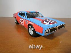 Lionel 1/24 Action Richard Petty #43 Stp 1974 Dodge Charger Hall Of Fame Car