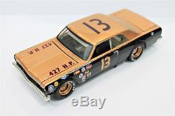 Mario Andretti ACTION #13 Smokey Yunick Chevy Chevelle Nascar Custom Diecast