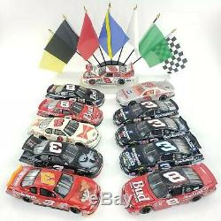 NASCAR Dale Earnhardt Sr and Jr. Collection LOT 124 Diecast Cars Hat Shirt Book