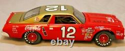 NASCAR Diecast Car 124 Bobby Allison #12 Coca Cola 1974 Chevrolet Malibu