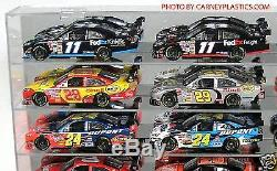 NASCAR Diecast Display Case 21Car 1/24 SS fits Action