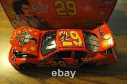 NASCAR KEVIN HARVICK SIGNED 1/24th #29 REESE'S ELVIS PRESSLEY DIECAST MIB