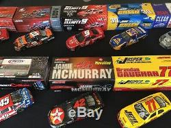 Nascar 1/24 Lot Of 13 die cast NASCAR Collectibles. Actions-Limited Editions