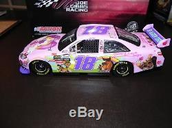 Nascar Autographed 2010 Kyle Busch #18 Z Line Pink Kimmy Diecast