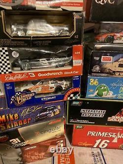 Nascar action revel diecast 1 24 lot of 20 cars
