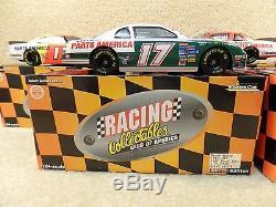 New 1997 RCCA 25th Anniversary Set Rare 124 Diecast NASCAR Darrell Waltrip #17