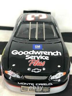 PROTOTYPE/SAMPLE ELITE 124 Dale Earnhardt #3 GMGW Service Plus 2001 Chevrolet