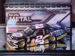 RARE'11 Brad Keselowski #2 1st Miller Platinum Gunmetal Nascar Diecast 124 HOT