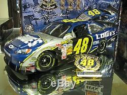 RARE! 2008 JIMMIE JOHNSON 3X CHAMPION WithPIN LOWES HENDRICK MOTORSPORTS 1 OF 2920