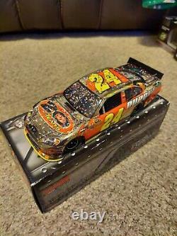 RARE 2012 Jeff Gordon Dupont Homestead Race Win 1/24 Color Chrome