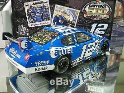Rare! 2008 Ryan Newman Alltel Daytona 500 Win Raced Team Penske Dodge 2750 Made