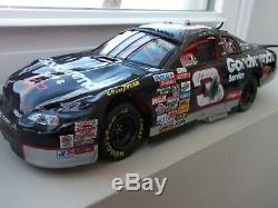 Rare NASCAR ACTION MODEL DIE-CAST DALE EARNHARDT 1997 DAYTONA CRASH CAR 1/24