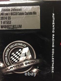 Rare! Sealed! 2 Cars! 2013 Jimmie Johnson All Star Win & 2014 Coca Cola 600 Win