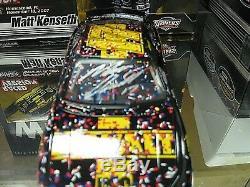 Rare! Signed 2007 Matt Kenseth Dewalt Nano Homestead Win Roush Fenway Fusion