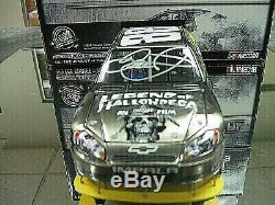 Rare! Signed 2010 Dale Earnhardt Jr Legend Of Hallowdega Brushed Metal #25/188