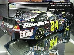 Rare! Signed 2010 Jeff Gordon National Guard Military Intelligence Impala 1720