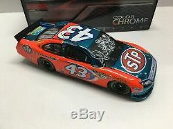 Richard Petty Autographed Nascar Diecast 2012 #43 Stp 1/24 Lionel Color Chrome