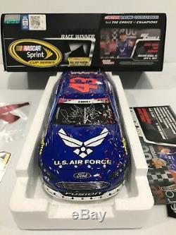 Richard Petty Motorsports Air Force Daytona Raced Win Aric Almirola Autographed
