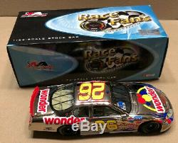 Ricky Bobby 26 Wonder Bread 1/24 Diecast Talladega Nights 2005 CHROME Nascar A2