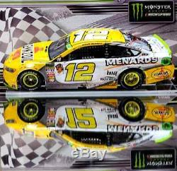 Ryan Blaney 2018 Charlotte Roval Win Raced Version Pennzoil 1/24 Action Diecast