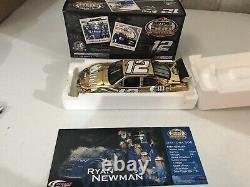 Ryan Newman #12 Alltel Daytona 500 Win Gold 1/24 2008 Dodge Action 1 of 550