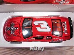 SIGNED 1998 ACTION Dale Earnhardt Sr. #3 Coca-Cola Monte Carlo 124 Diecast NIB