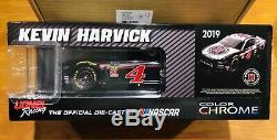 Signed KEVIN HARVICK DOOR # 2019 JIMMY JOHNS Din. #4 CHROME Diecast 1/24