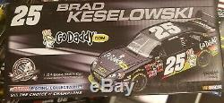 Super Rare Brad Keselowski 2008 Chevy Impala Ss Go Daddy Autographed Diecast