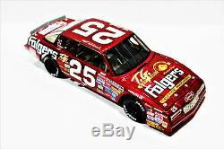 Tim Richmond ACTION #25 Folgers'86 Chevy Aerocoupe Custom Made Winston Diecast