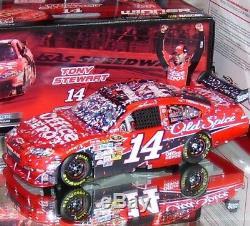 Tony Stewart 2009 Kansas Raced Version Office Depot 1/24 Action Nascar Diecast