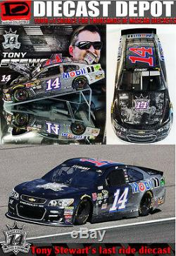 Tony Stewart 2016 Last Ride Homestead 1/24 Scale Action Nascar Diecast