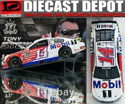 Tony Stewart 2016 Mobil One 1/24 Scale Action Nascar Diecast
