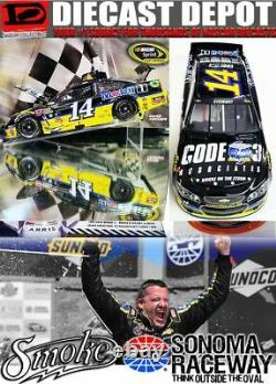 Tony Stewart 2016 Sonoma Win Raced Version Code 3 Associates 1/24 Scale Action