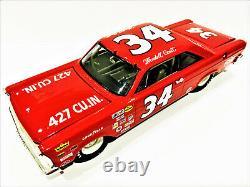 Wendell Scott ACTION #34 427 CU IN Ford Galaxie Nascar Racing Custom Die-cast