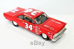 Wendell Scott ACTION #34 427 C. I.'66 Ford Galaxie Nascar Custom Made Diecast