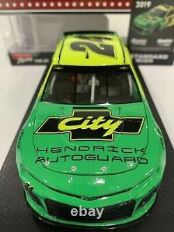 William Byron 2019 Hendrick Autoguard City Chevrolet Darlington Days of Thunder