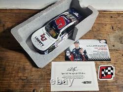 William Byron Lot of 3 Autographed Wins 2017 Iowa Indy Daytona Liberty 124