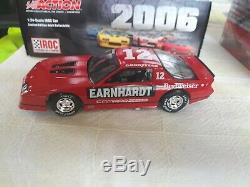 XRARE 124 Dale Earnhardt #12 RED BUDWEISER 1987 CAMARO IROC XTREME DieCast CAR