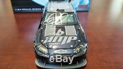 XRARE 2009 Dale Earnhardt Jr #88 Amp / Get on the #88 BLACK CC Factory Autograph
