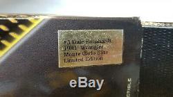 XRARE Custom DALE EARNHARDT #3 1981 WRANGLER Monte Carlo 1/24 Action Elite