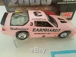 XRARE Dale Earnhardt #3 PINK BUDWEISER 1989 CAMARO IROC XTREME 1/24 DIECAST CAR