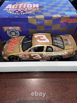 XRare 1998 Dale Earnhardt Sr #3 Gold Daytona 1/24 GW Plus Canadian Promo MIB