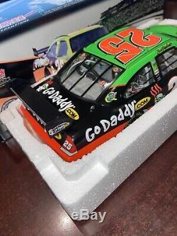 XRare 2009 Brad Keselowski #25 GoDaddy. Com Impala SS COT 1/24 Action NASCAR MIB