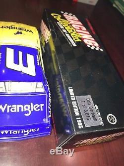 XRare #3 Dale Earnhardt Wrangler 1984 Blue Goose Monte Carlo 1/24 Action